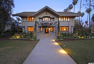 Pasadena Single Family Home For Sale: 280 South Orange Grove Boulevard
