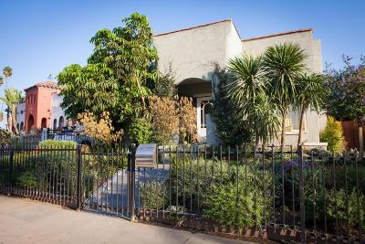 Los Angeles Single Family Home For Sale: 2318 Lucerne Avenue