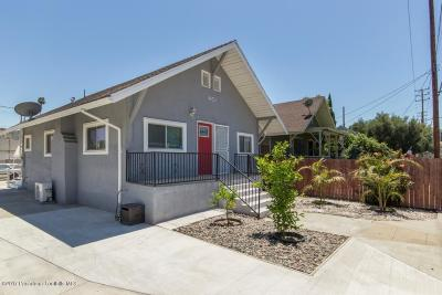 Los Angeles Single Family Home For Sale: 5316 Marmion Way