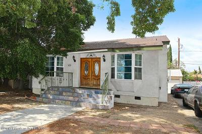 Burbank Single Family Home For Sale: 435 North Glenwood Place Place