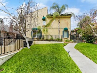 Pasadena Condo/Townhouse For Sale: 253 Mar Vista Avenue #3