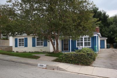 Pasadena Single Family Home For Sale: 1320 Brixton Road