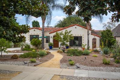 Pasadena Single Family Home For Sale: 392 South Greenwood Avenue