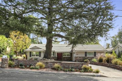 La Canada Flintridge Single Family Home For Sale: 4930 Angeles Crest Highway
