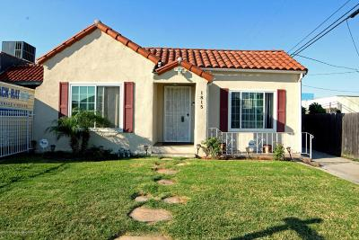 Los Angeles Single Family Home For Sale: 1815 West 80th Street