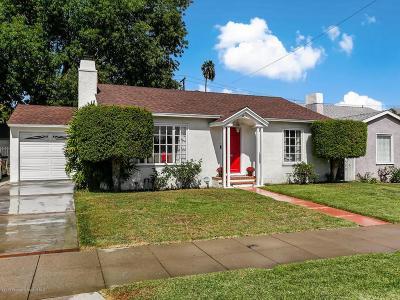 Pasadena Single Family Home For Sale: 3725 Corta Calle Street
