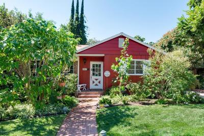 La Canada Flintridge Single Family Home For Sale: 4607 Encinas Drive