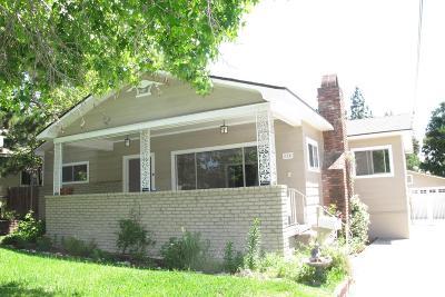 Sierra Madre Single Family Home For Sale: 170 Adams Street