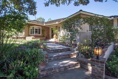 San Marino Single Family Home For Sale: 2295 Huntley Circle
