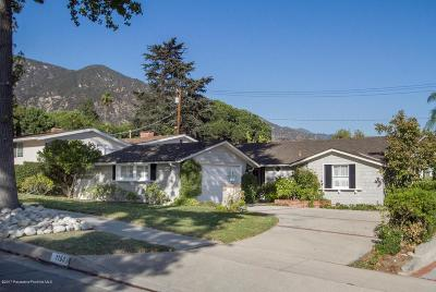 Pasadena Single Family Home For Sale: 1150 Valley View Avenue