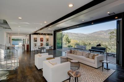 La Canada Flintridge Single Family Home For Sale: 4235 Mesa Vista Drive