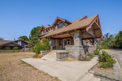 Monrovia Single Family Home For Sale: 515 East Colorado Boulevard