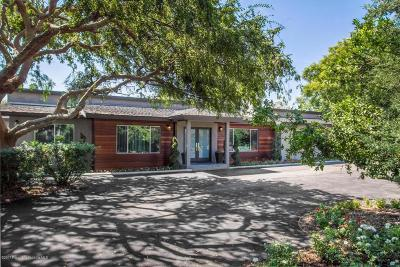 Pasadena Single Family Home For Sale: 3626 East California Boulevard