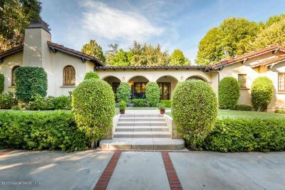 La Canada Flintridge Single Family Home For Sale: 5010 Hill Street