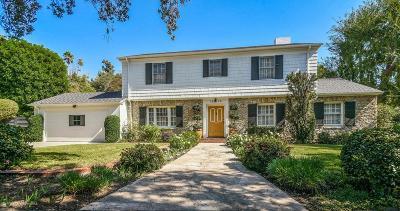 Pasadena Single Family Home For Sale: 1016 South Arroyo Boulevard