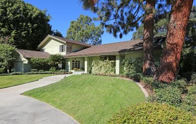 San Marino Single Family Home For Sale: 2151 Valentine Place