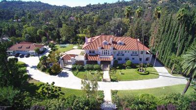 La Canada Flintridge Single Family Home For Sale: 700 Berkshire Avenue