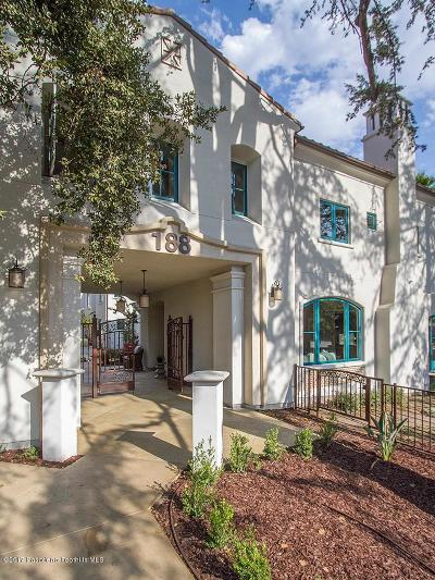 Pasadena Condo/Townhouse For Sale: 188 South Sierra Madre Boulevard #11