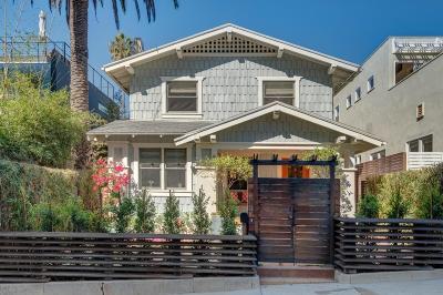 Santa Monica Single Family Home For Sale: 9 Vicente Terrace