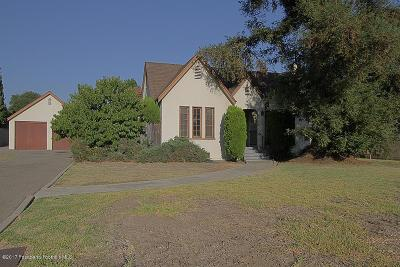 Arcadia Single Family Home For Sale: 2506 Florence Avenue