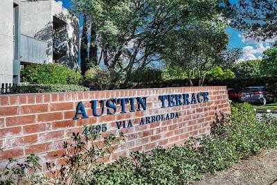 Los Angeles Condo/Townhouse For Sale: 4295 Via Arbolada #205
