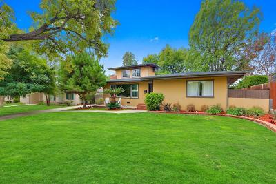 Pasadena Single Family Home For Sale: 645 Cliff Drive