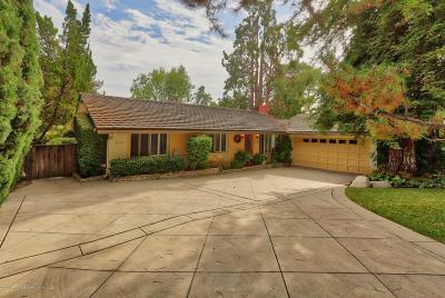 La Canada Flintridge Single Family Home For Sale: 2116 Los Amigos Street