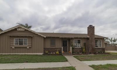 Downey Single Family Home For Sale: 12018 Brookshire Avenue