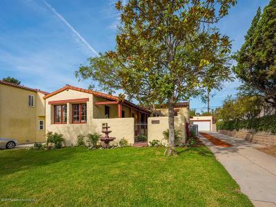 Glendale Single Family Home For Sale: 1359 Sonora Avenue