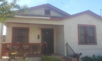 Los Angeles Single Family Home For Sale: 1606 East 32nd Street