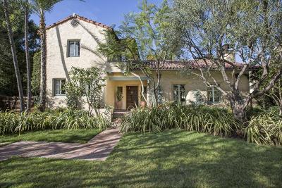 San Marino Single Family Home For Sale: 1211 Adair Street