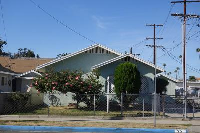 Pasadena Single Family Home For Sale: 25 Madre Street