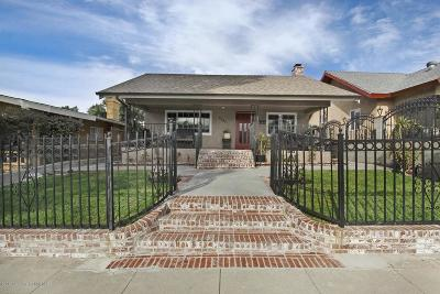 Los Angeles Single Family Home For Sale: 3345 Merced Street