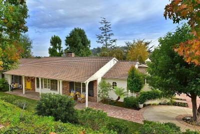 La Canada Flintridge Single Family Home For Sale: 1251 Inverness Drive