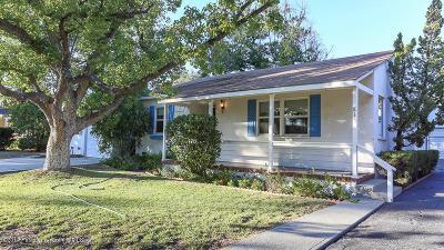 Monrovia Single Family Home For Sale: 813 East Lime Avenue