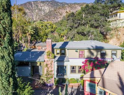 Sierra Madre Single Family Home For Sale: 600 Woodland Drive