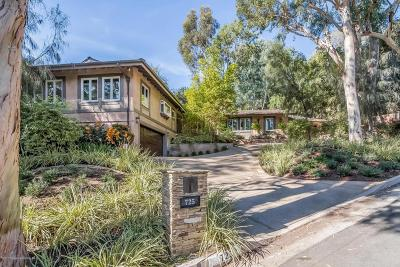 Pasadena Single Family Home For Sale: 725 San Remo Road