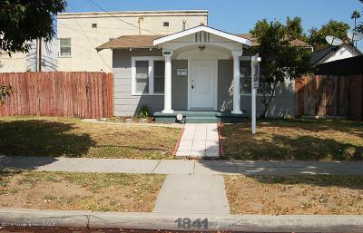 Glendale Single Family Home For Sale: 1841 Tyburn Street