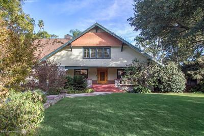 South Pasadena Single Family Home For Sale: 1702 Marengo Avenue