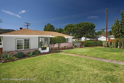 Glendale Rental For Rent: 3754 Fairesta Street