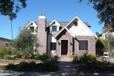 San Marino Single Family Home For Sale: 2755 Lorain Road