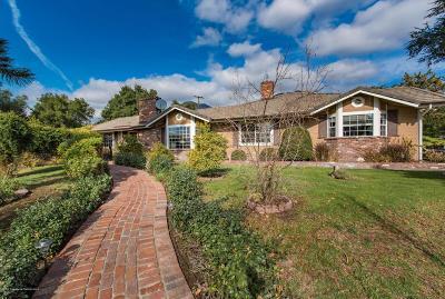 Arcadia Single Family Home For Sale: 37 Sierra Madre Boulevard