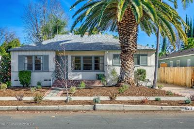 Valley Village Single Family Home For Sale: 5312 Beeman Avenue