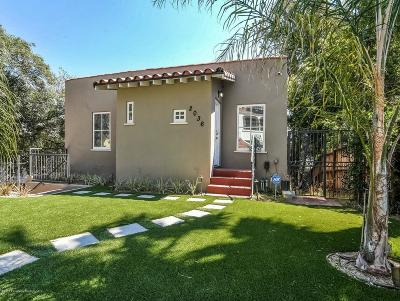 Los Angeles Single Family Home For Sale: 2036 Holly Hill Terrace