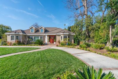 San Marino Single Family Home For Sale: 1505 Euston Road