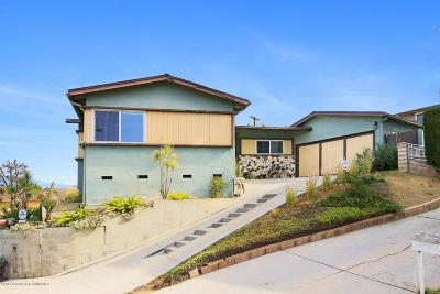 Los Angeles Single Family Home For Sale: 3545 Verdugo Vista Terrace