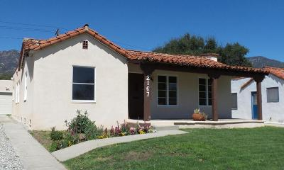 Pasadena Single Family Home For Sale: 2167 Casa Grande Street