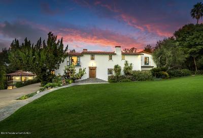 La Canada Flintridge Single Family Home For Sale: 717 Hillcrest Avenue