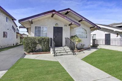 Long Beach Single Family Home For Sale: 2135 Lime Avenue