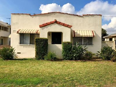 Los Angeles Single Family Home For Sale: 737 Findlay Avenue